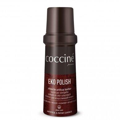 Avalynės blizgiklis dirbtinei ir eko odai juodos spalvos Coccine 75ml 2