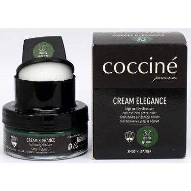 Avalynės tepalas su kempinėle TAMSIAI ŽALIOS spalvos Nr. 32 Coccine, 50 ml 3