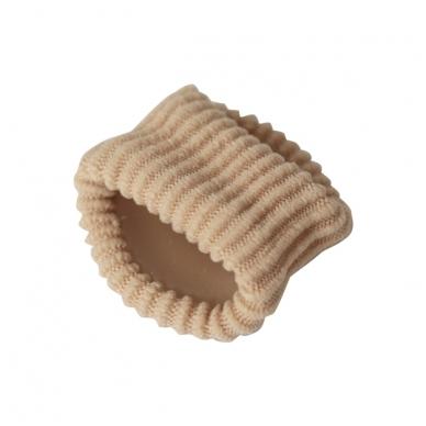 Elastinis apsauginis piršto žiedas su gelio pagalvėle GELTEX Coccine L dydis, 1 vnt 3