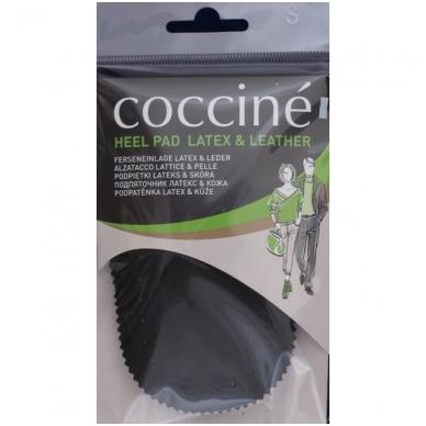 Minkštos odinės pakulnės, juodos spalvos Coccine, 2 vnt.