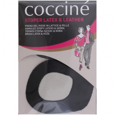 Odiniai įdėklai kojų pirštams, juodos spalvos Coccine, 2 vnt.