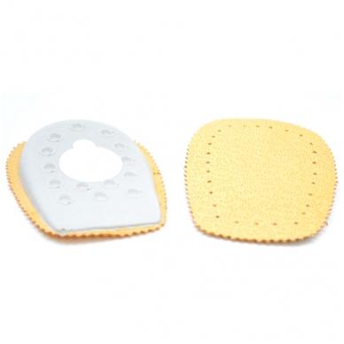 Minkštos odinės pakulnės su lateksu Coccine, 1 pora 3