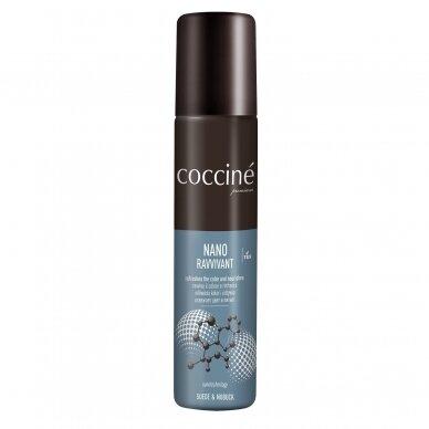 Spalvos atnaujinamoji priemonė zomšai ir nubukui, RUDOS spalvos Nr. 14, Coccine Nano, 100ml